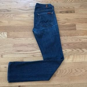 7 For All Mankind Roxanne Denim. Medium Wash